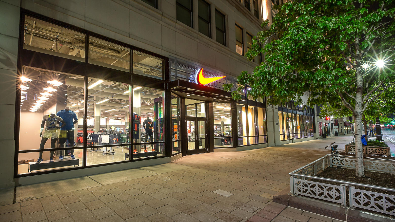 Nike Detroit Community Store opens in downtown's historic F.W. Woolworth Co. building, at 1261 Woodward Avenue