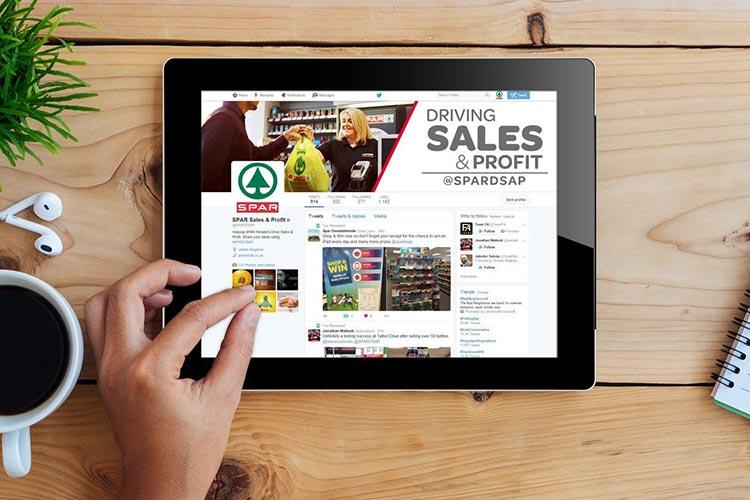UK cash prizes @SPARDSAP on iPad