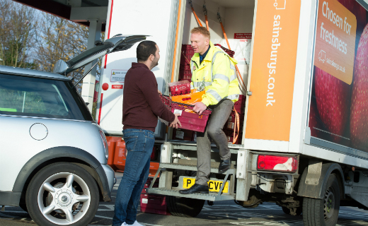 Sainsbury's to add 100 new Click & Collect Groceries sites over the next 12 months