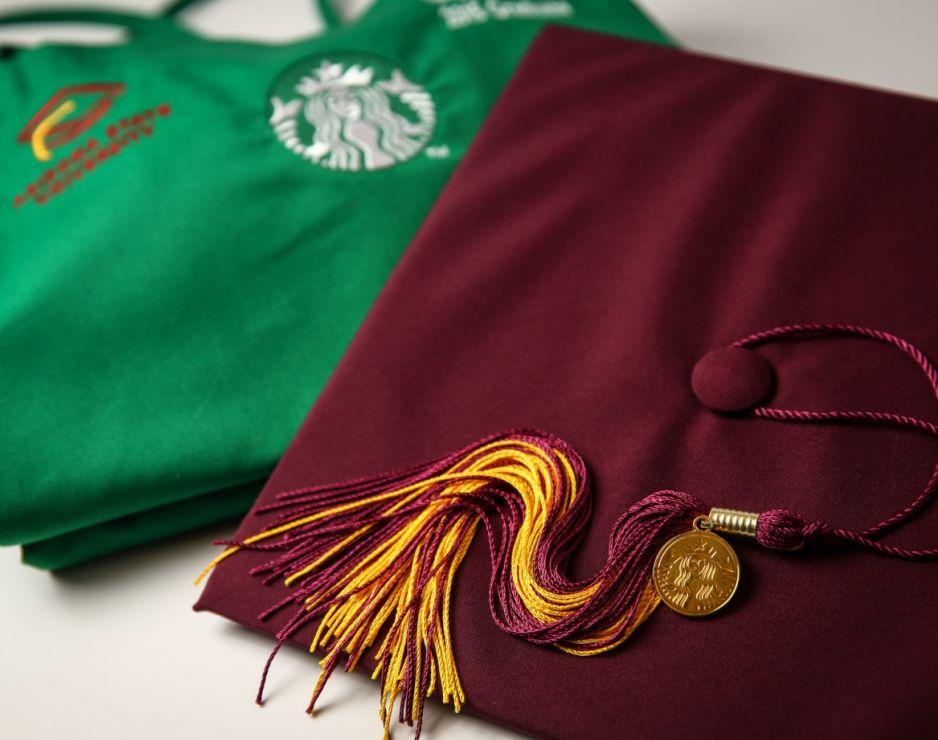 Starbucks partners share their college journey