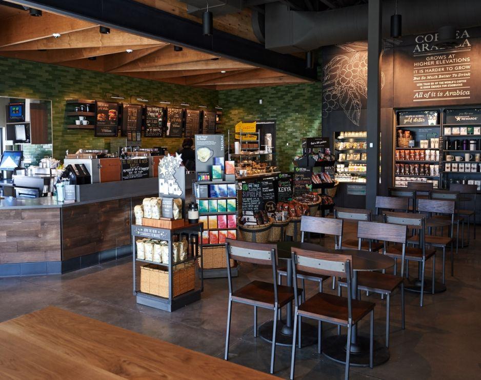 Starbucks unveiled its first store in Ferguson, Missouri