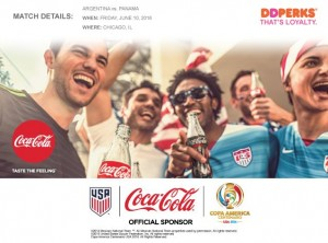 Win a pair of tickets to COPA America Centenario with Dunkin' Donuts and Coca-Cola