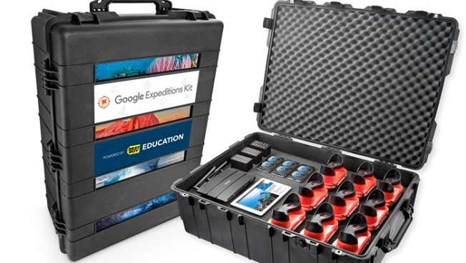 Google Expedition Kits powered by Best Buy Education help teachers lead students on more than 200 different educational trips
