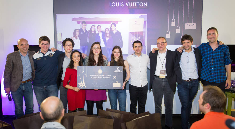 Louis Vuitton organized second hackathon centered on the supply chain