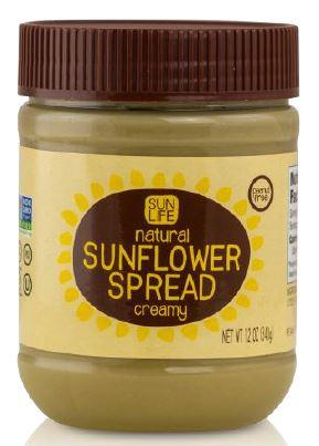 Nu Life Market of Scott City, Kansas recalls 300 jars of its three flavors of Sun Life brand Sunflower Spread