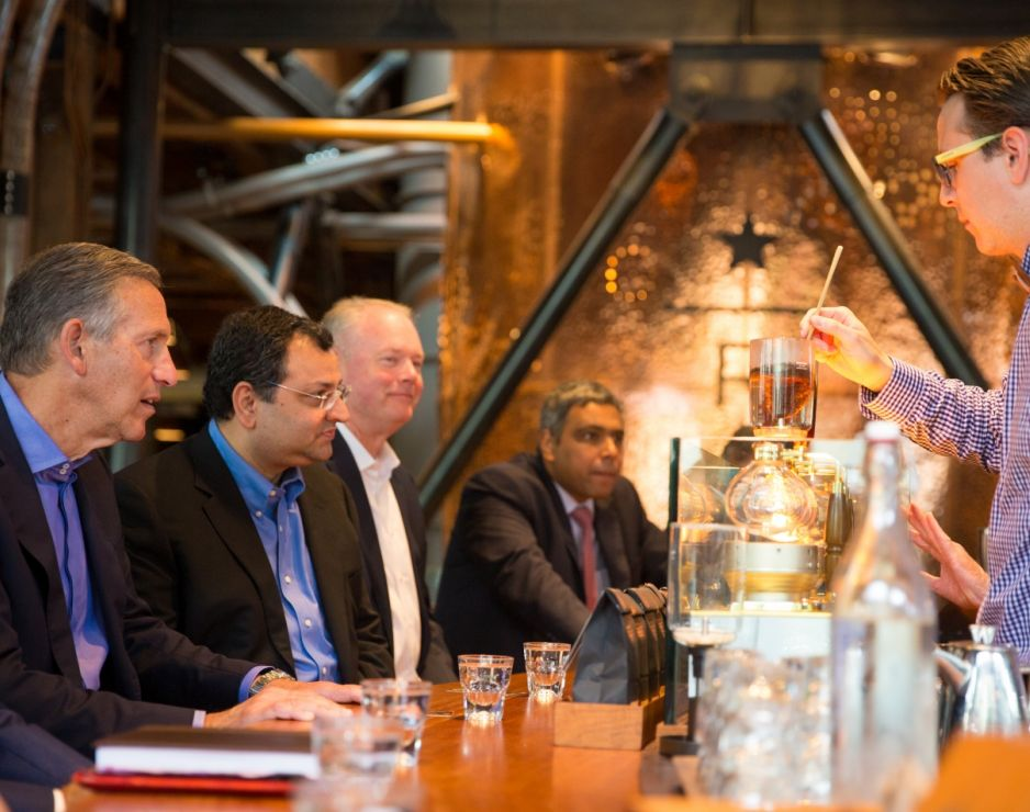 Starbucks and Tata Sons Limited expand existing partnership