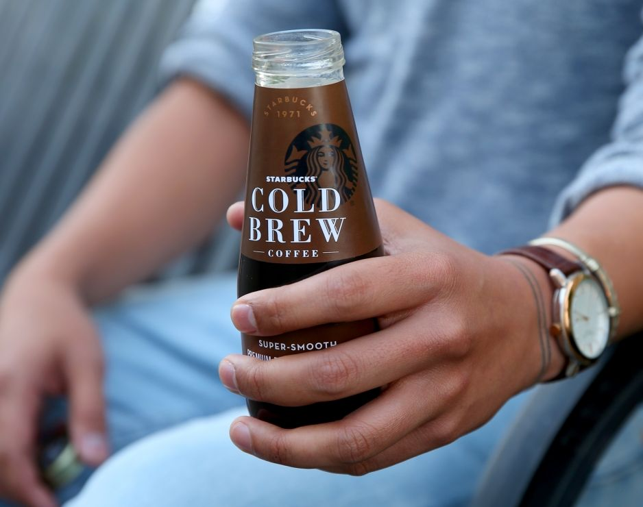 Starbucks launches new bottled Starbucks Cold Brew coffee