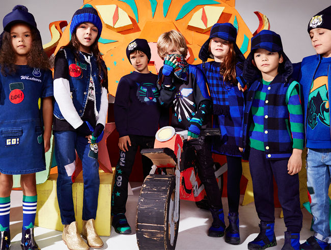 Stella McCartney Kids launches the Autumn Winter 2016 Collection