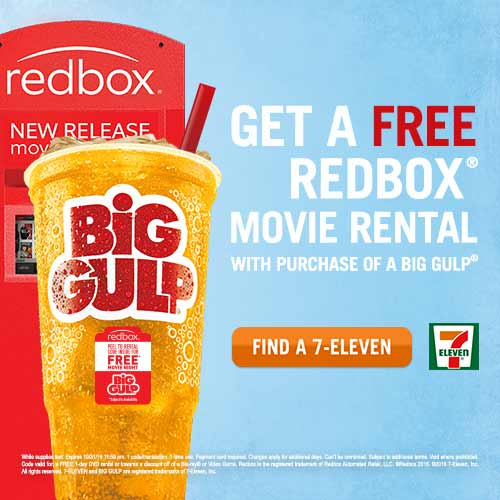 7‑Eleven and Redbox announce the return of their popular free movie night offer this summer