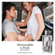 Abercrombie & Fitch launches new fragrance 'First Instinct'
