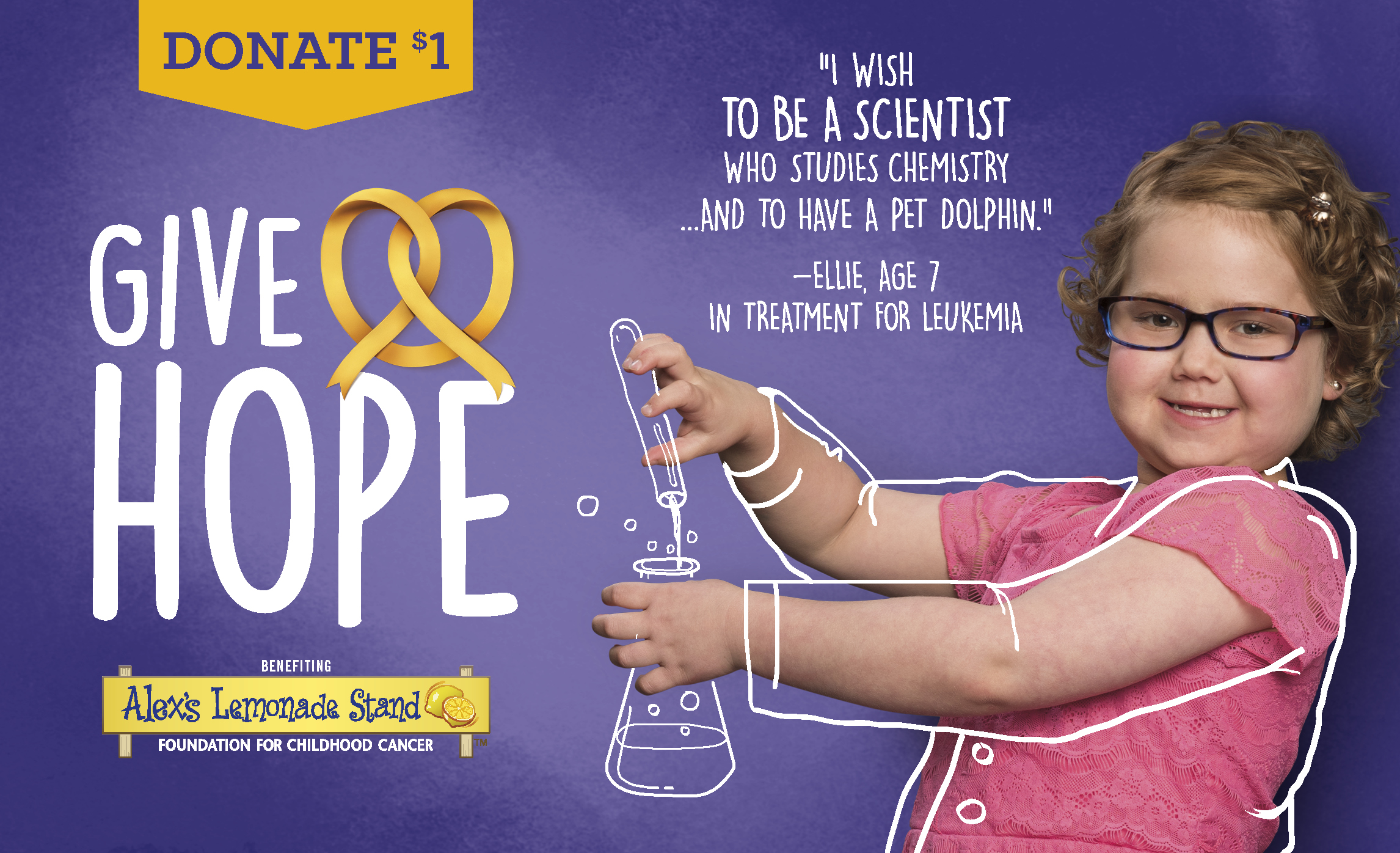 Auntie Anne's® kicks off its fifth annual in-store fundraising campaign to support Alex's Lemonade Stand Foundation