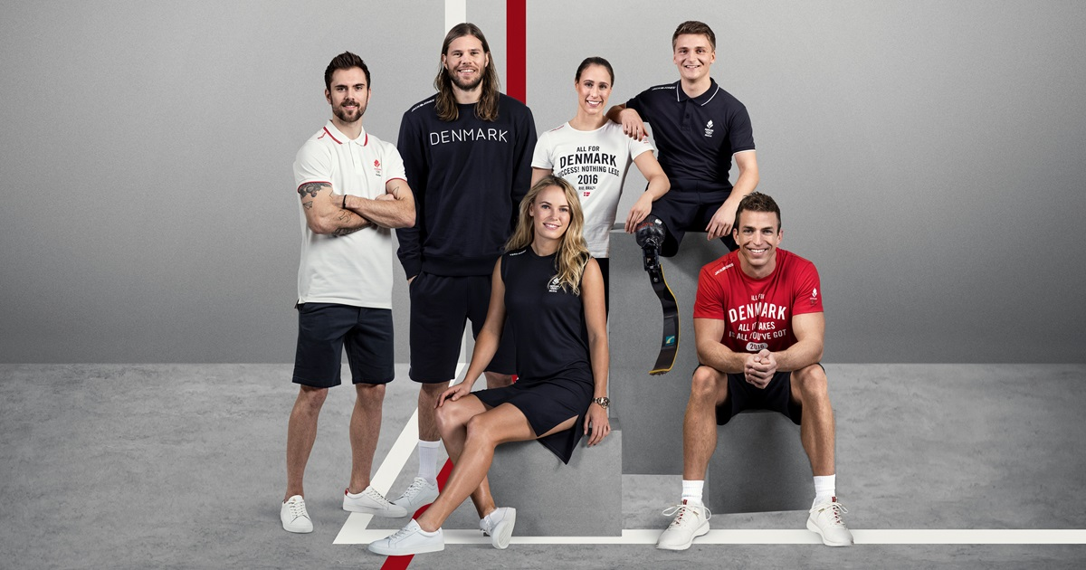 BESTSELLER brands VERO MODA and JACK & JONES team up with Danish athletes to design the official wardrobe for the Danish team going to Rio