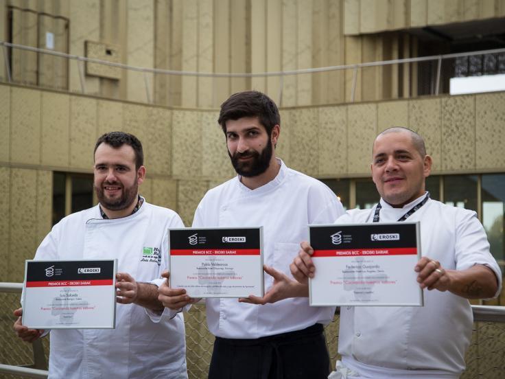 Basque Culinary Center y EROSKI premiarán la innovación gastronómica con productos locales