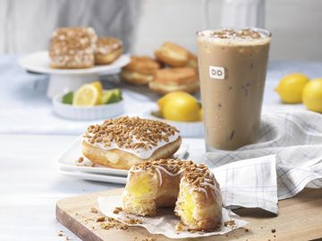 Dunkin' Donuts adds Lemon Croissant Donut and Key Lime Square in its menu