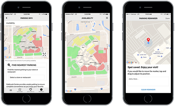 GGP launches new parking app powered by INRIX