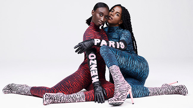 H&M unveils the first three looks from the KENZO x H&M collection