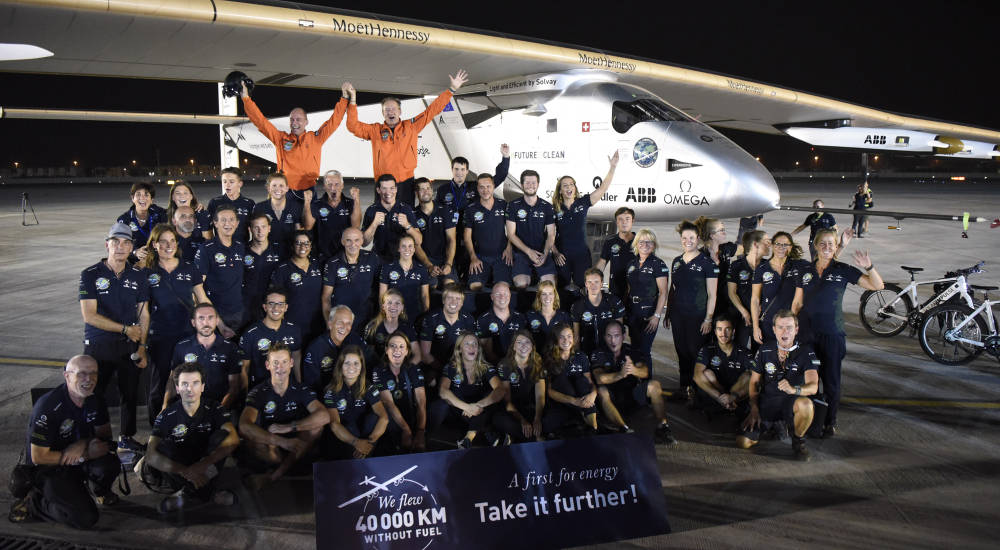 Moët Hennessy and LVMH partnership with Solar Impulse reached an amazing achievement as the first solar aircraft completes its round-the-world flight