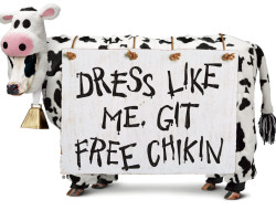 Chick-fil-A®'s 12th annual Cow Appreciation Day event on July 12: customers invited to wear their spots and receive free entree