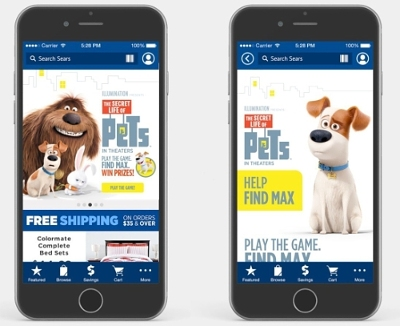 """Sears starts the back-to-school season with two new private label apparel lines and a new """"The Secret Life of Pets"""" app game"""