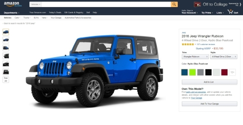 Amazon launches car research destination and automotive community Amazon Vehicles