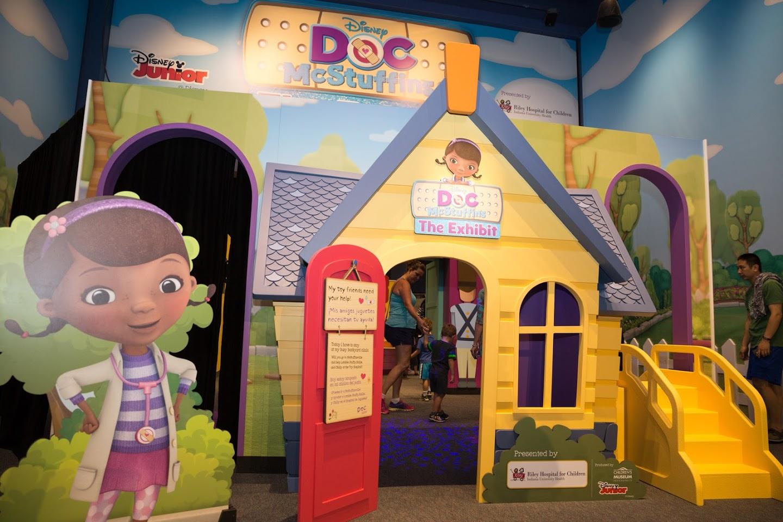 Disney Junior brings Doc McStuffins directly to fans through touring museum exhibit across the U.S.
