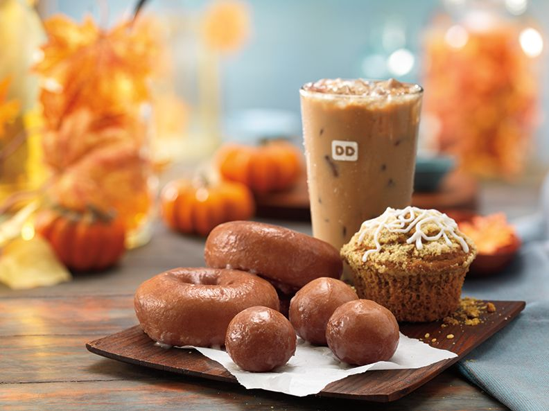 Dunkin' Donuts announces the return of one of fall's favorite flavors — pumpkin coffees and baked goods