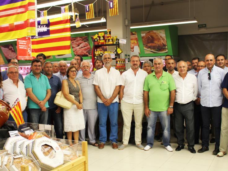 EROSKI alcanzó los 77,63 millones de euros en facturación de producto local en 2105 en Baleares, lo que supone un ligero incremento respecto al año anterior