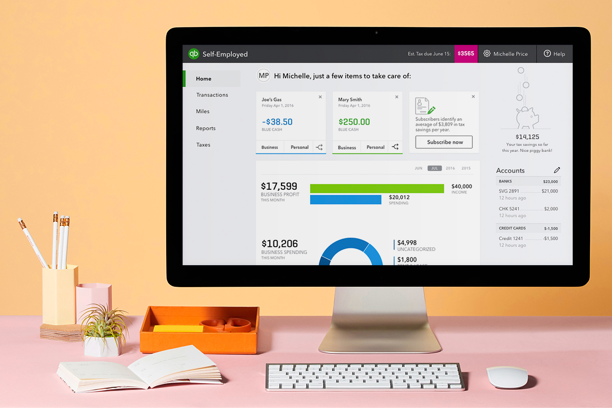 Etsy sellers in the U.S. and U.K. can now export their Etsy sales and expenses directly into QuickBooks Self-Employed™
