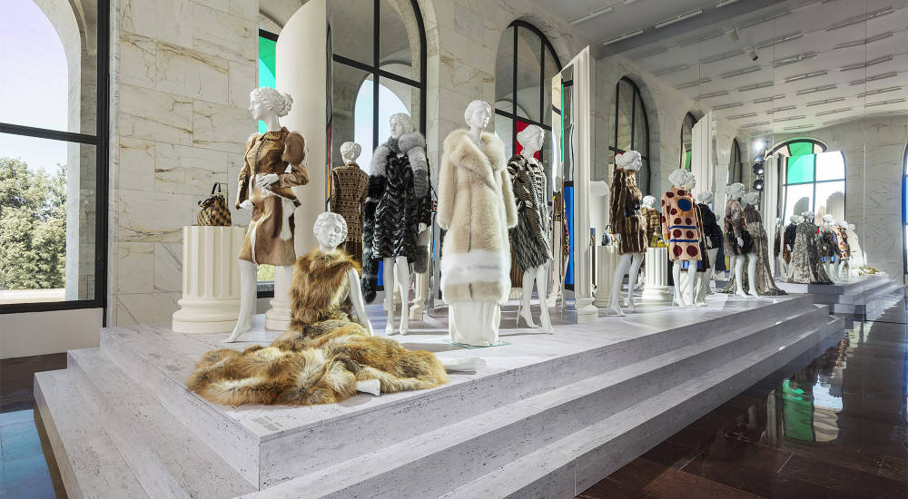 "Fendi celebrates its 90th anniversary with an exhibition entitled ""FENDI Roma – The Artisans of Dreams"""