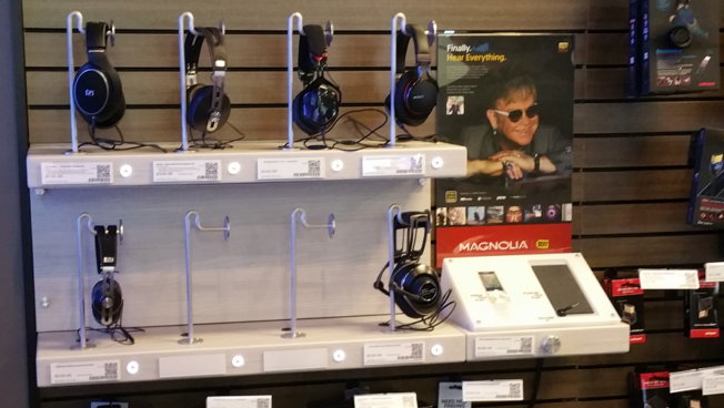 Hi-Res Listening Station displays expands to more than 250 Magnolia Home Theater locations at Best Buy