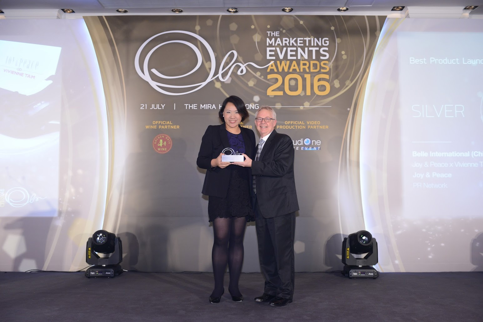 JOY & PEACE recognized at The Marketing Events Awards 2016