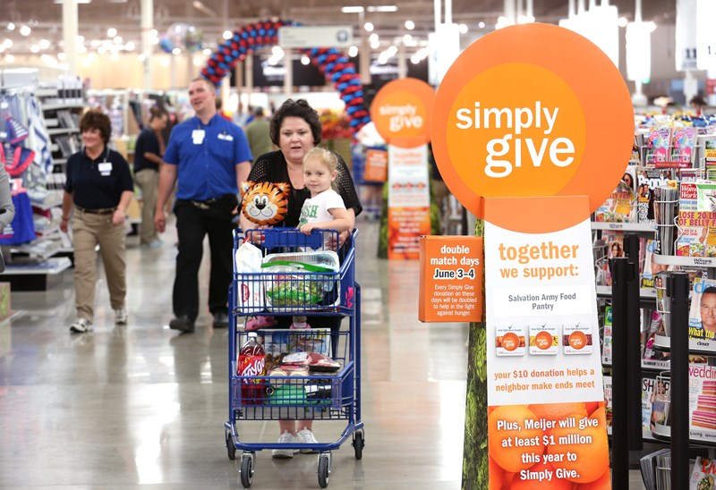 Meijer kicks off fall campaign of its signature hunger relief program, Simply Give