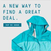 REI launches new digital store featuring best-in-class, off-price products — REI Garage