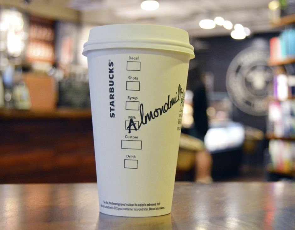 Starbucks to debut Almondmilk as non-dairy alternative starting September 6