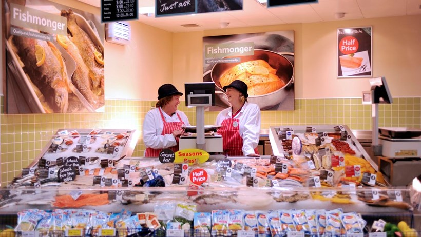 Tesco scheme led to a change in customers' fish shopping demands
