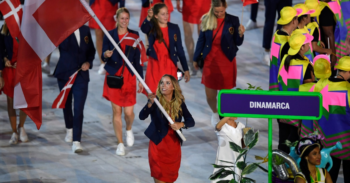 The Danish Olympic team graced the opening ceremmony in Rio in style wearing JACK & JONES and VERO MODA outfits
