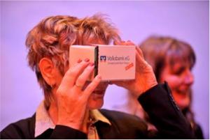 Volksbank eG Schwarzwald Baar Hegau the first German bank to introduce NCR's breakthrough concept — NCR Innovation Experience Room