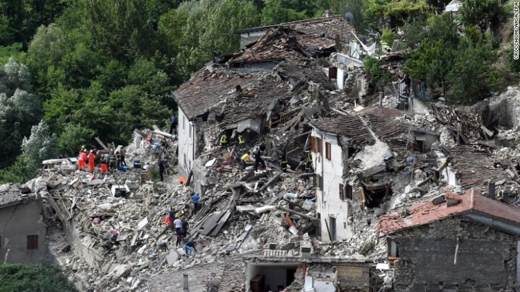 eBay.it launches appeal page to help raise funds for earthquake survivors in Central Italy