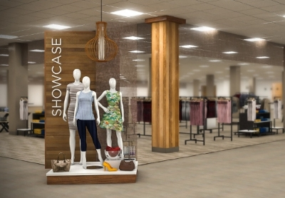 "Sears launches a unique shop-in-shop experience featuring popular international fashion brands, ""Showcase at Sears"""