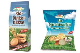 SPAR Switzerland launches two new healthy SPAR Natur pur snacks: Organic spelt cookies and organic mini corn cakes