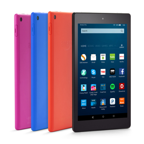 Amazon announces all-new Fire HD 8 for less than $90