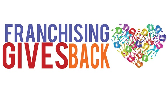 Auntie Anne's® receives the Enduring Impact Gold Award at the second annual Franchising Gives Back awards