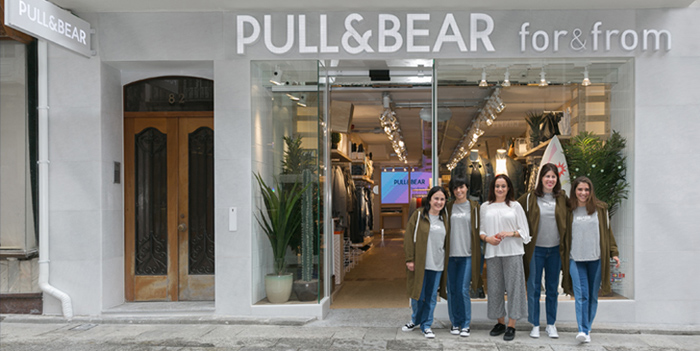 COGAMI (Galician Confederation of Persons with Disability) to manage Pull&Bear's maiden 'for&from' store in Ferrol