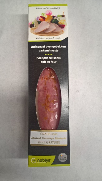 Dobbels Meat recalls pork tenderloin with mustard sauce due to undeclared allergens
