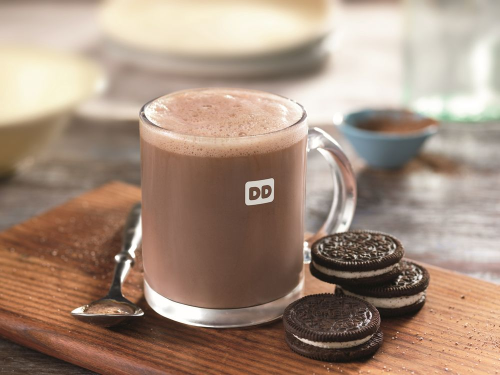 Dunkin' Donuts introduces new OREO® flavored Hot Chocolate