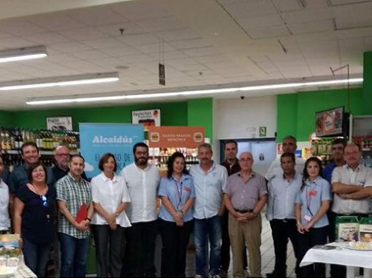 Eroski Baleares Menorca reaffirms its commitment to the local dairy sector