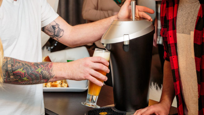 Fizzics® portable draft beer system now available at Best Buy