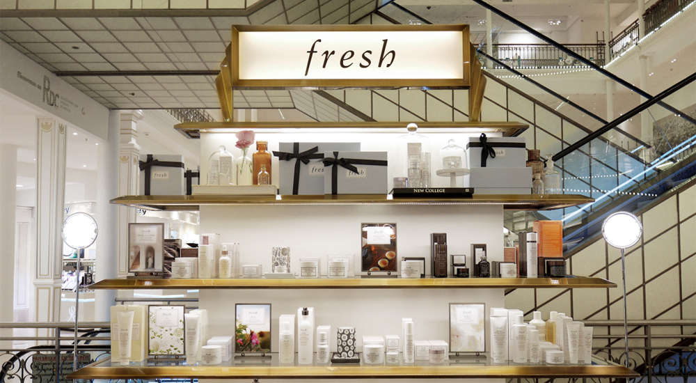 Fresh steadily expands its footprint in Paris, now featured at Sephora store on the Champs Elysées