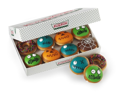 Krispy Kreme Doughnuts launches new Halloween doughnuts and beverages available now through Oct. 3