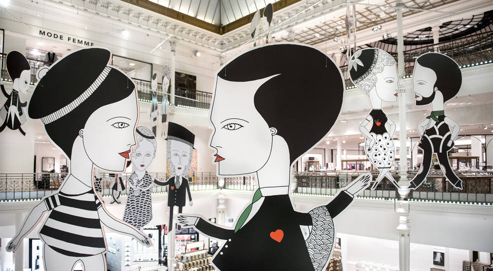 Le Bon Marché hosts The PARIS! Exhibition
